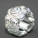Art.-Nr. Ca-R1007R Rosenring, 17mm, 158,00€