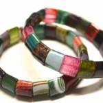 Armband auf doppeltem Schmuckgummiband, Achat, 21,00€