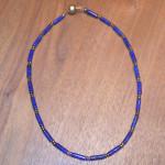 Art.-Nr. 570 Lapis Lazuli ca. 4x13mm, Hämatit, Acrylmagnetverschluss, 74,50€