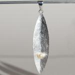 Art.-Nr. Ca-AS1573P Silberanhänger mit SWZ-Perle, 50x13mm, 23,90€