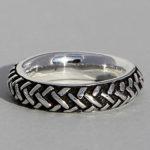 Art.-Nr. Ca- R1556S Silberring geschwärzt | Bondal, 5mm, reduziert! 29,90€