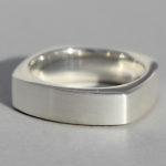 Art.-Nr. Ca- R1540P Silberring | Square, 6mm, 69,00€