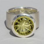Art.-Nr. Ca-RS1348L Silberring mit Lemonquarz | Noblesse, Ø12mm Cabochon, 225,00€