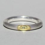 Art.-Nr. Ca-RS1616P Silberring vergoldet mit Peridot | Lula, Ø1,5mm fac, 63,90€